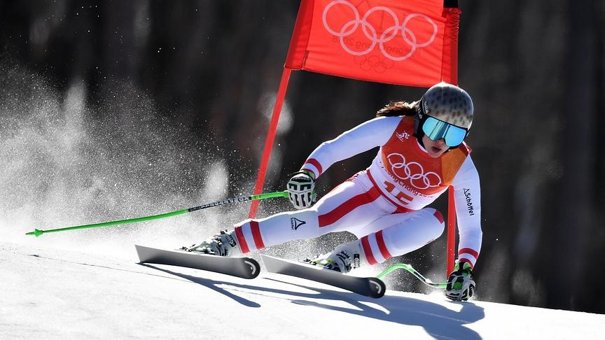 Racing suits for alpine skiing